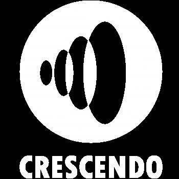 logo Crescendo - wit CMYK 300dpi
